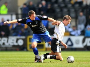 Bury fans 'gutted' to lose Dons-bound Sweeney